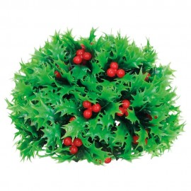 Holly balls with berries